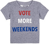 """Little DiLascia """"Vote More Weekends"""" T-Shirt"""