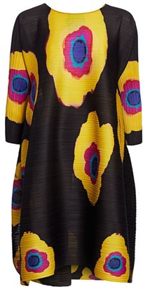 Pleats Please Issey Miyake Bloom Full Shift Dress