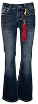 Seven7 Girls' Bootcut Jeans - Indigo