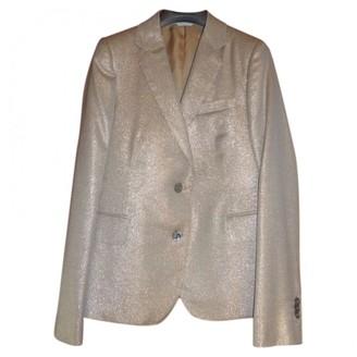 Mauro Grifoni Metallic Wool Jacket for Women