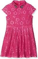 Yumi Girl's Two Tone Lace Dress