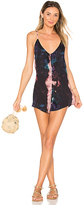 Beach Riot Ray Romper in Black. - size XS (also in )