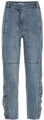 Tibi High-rise carrot jeans