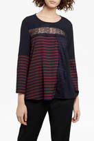 French Connection Isabella Crepe Top