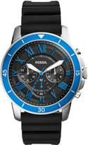 Fossil Grant Sport Chronograph Watch Schwarz