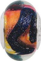 Persona Italian Glass Cosmic Charm fits Pandora, Troll & Chamilia European Charm Bracelets