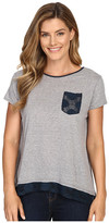 Roper 0428 Lightweight Heather Jersey Slouchy Tee