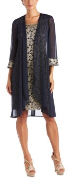 R & M Richards Lace Dress & Jacket