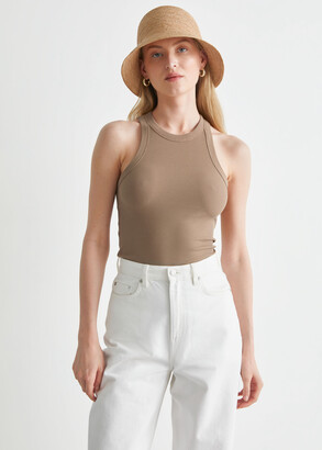 And other stories Ribbed Tank Top