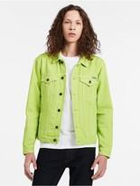 Calvin Klein Colored Denim Trucker Jacket