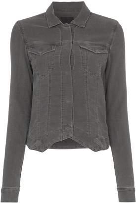 RtA asymmetric denim jacket