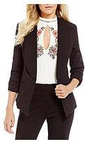 Takara Ruched Sleeve Suiting Jacket