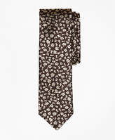 Brooks Brothers Floral Silk Jacquard Slim Tie
