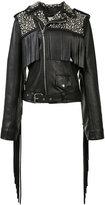 Rodarte studded biker jacket