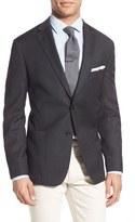 Men's Bensol Trim Two-Button Blazer