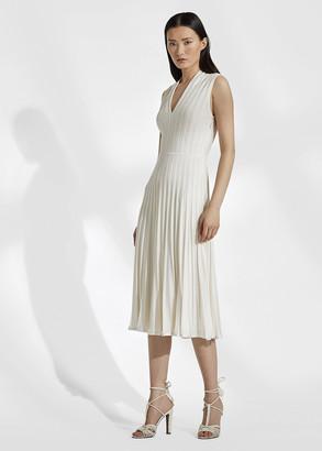 Ralph Lauren Silk-Blend Sweater Dress
