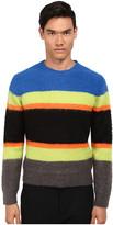Marc by Marc Jacobs Fuzzy Stripe Sweater