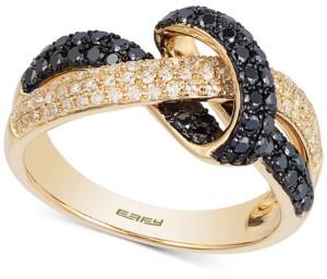 Effy Multi-Color Diamond Twist Statement Ring (3/4 ct. t.w.) in 14k Gold