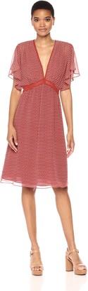 Max Studio Women's Printed Texture Dress