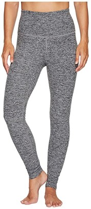Beyond Yoga Spacedye High Waisted Long Leggings (Black/White) Women's Casual Pants