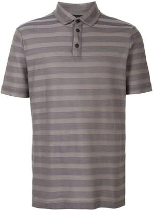 Giorgio Armani Striped Polo Shirt
