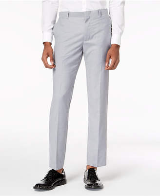 INC International Concepts Inc Men Slim-Fit Gray Suit Pants