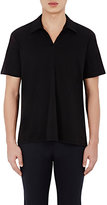 ATM Anthony Thomas Melillo MEN'S JOHNNY-COLLAR POLO SHIRT