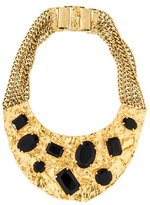 Michael Kors Crystal Bib Necklace