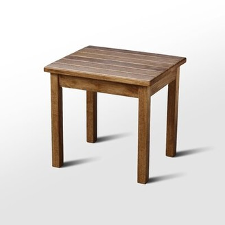 August Grove Franklin Springs Porch End Table Color: Maple