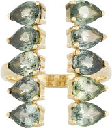 Ileana Makri Women's Gemstone Deco Column Ring