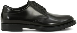 Tod's Stamped Monogram Lace-Up Shoes
