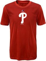 Majestic Kids' Philadelphia Phillies Geo Strike T-Shirt