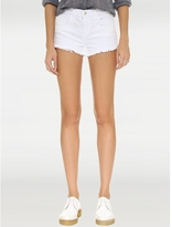 L'Agence Zoe Distressed Perfect-Fit Shorts