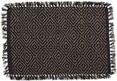 Amalfi by Rangoni Saba Placemat, Black