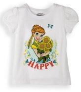 (FEST628) Frozen Forerver Little Girls Toddler Anna Tee Shirt in Size:T