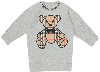 BURBERRY KIDS Baby cotton-jersey dress