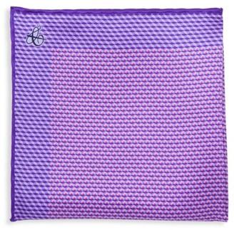 Canali Mini Deco Silk Pocket Square