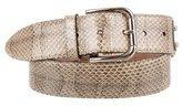 Dolce & Gabbana Snakeskin Embellished Belt