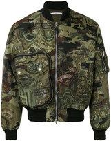Givenchy camouflage bomber jacket - men - Polyamide/Polyester/Viscose - 46