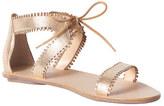 Rebecca Taylor Sofia Laser Cut Sandal