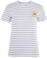Glamorous **avocado embroidered t-shirt