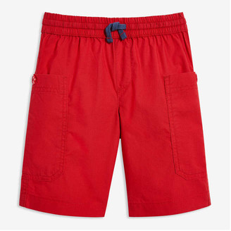 Joe Fresh Kid Boys' Cargo Shorts, Red (Size M)