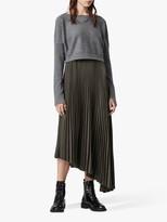 AllSaints Evetta Removable Jumper Midi Dress