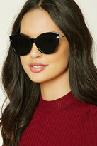 Forever 21 FOREVER 21+ Cat Eye Sunglasses