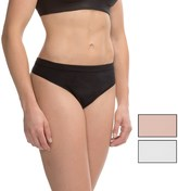 Yummie Tummie Yummie by Heather Thomson Margret Seamless Panties - Thong, 3-Pack (For Women)