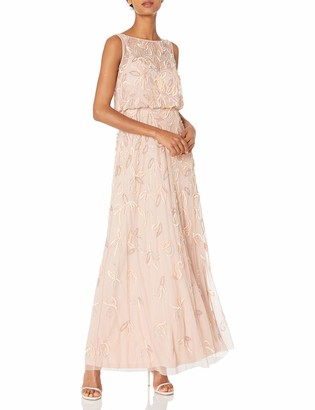 Adrianna Papell Women's Sleeveless Blouson Gown
