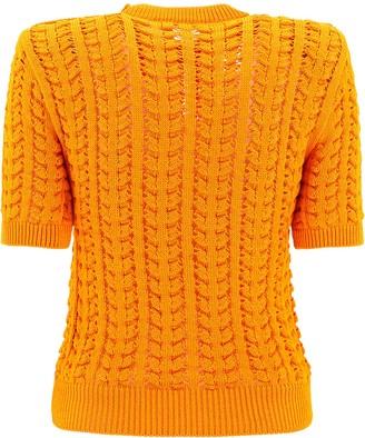 Balmain Short Sleeved Sweater