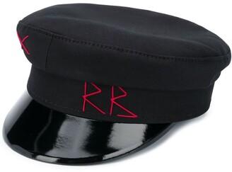 Ruslan Baginskiy Embroidered logo baker boy hat