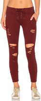 NSF Maddox Jogger in Burgundy. - size XS (also in )