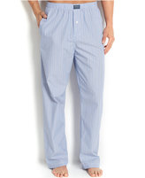 Polo Ralph Lauren Big and Tall Blue Andrew Stripe Men's Pajama Pants